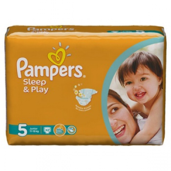 PAMPERS SLEEP&PLAY 5
